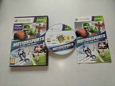 Xbox 360 Juego Kinect Motionsports Juegos para Real segunda mano  Embacar hacia Argentina