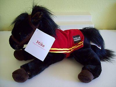 Wells Fargo 2016 LEGENDARY MIKE THE PONY  w/ Tags Chestnut Plush Horse