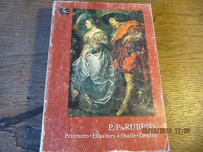 P. P. RUBENS Peintures-Esquisses à l'huile-Dessins Catalogue Exposition 1977