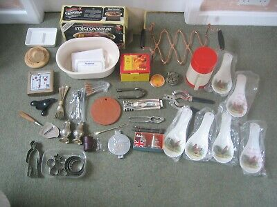 Large Collection of Kitchen Items - Vintage Kitchenalia Modern Unused - Job Lot