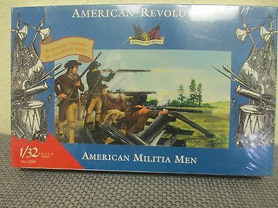 Imex Accurate AMERICAN REVOLUTION American Militia Men NOS