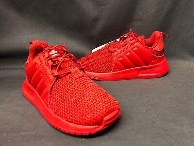 Adidas X_PLR EL I TD Athletic Sneakers Red White Boys Size 9 NWOB!
