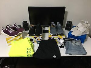 Ultra boost 3.0 LTD core black & Custom Burgundy Ultra Boost 2.0 Glenwood Blacktown Area Preview