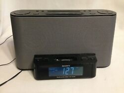 Sony ICF-CS 10iP Dream Machine AM/FM Radio Alarm Clock with iPod Dock