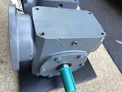 New Cleveland Gear Box M2613BAH20C Worm Reducer Gear Box20:1 ICHS Size 26 Worm Gear Reducer