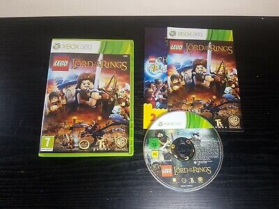 Lego The Lord of the Rings Xbox 360 Adventure Family Video Game Manual PAL