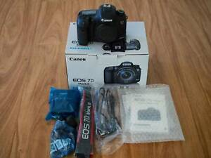 Canon EOS 7D mk II Body Only (Excellent Condition)