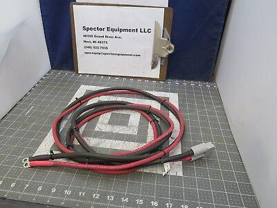 8 Set Forklift Golf Cartbattery Charger Cable Set 6 Awg Stranded 600 Volt
