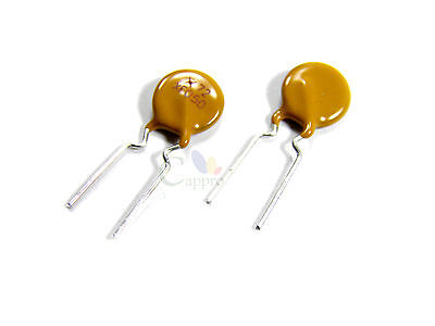 100pcs 500ma 72v 0.5a Polyswitch Resettable Fuse Poly Switch Leaded Pptc