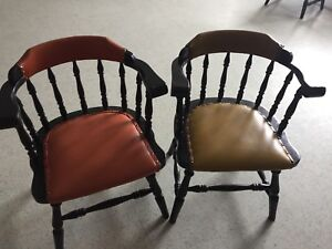 Bar room type chairs