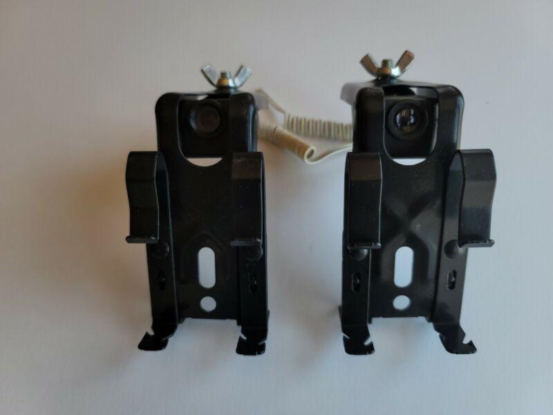 Liftmaster, Chamberlain, Craftsman Garage Door Sensor w/Mounting Brackets