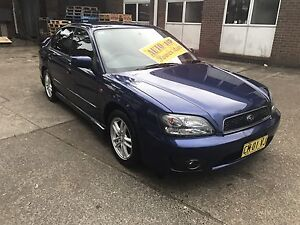 Subaru liberty rx 2002 auto low kms Clemton Park Canterbury Area Preview