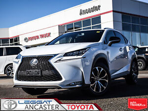 2017 Lexus NX 200t ONLY 15687 KMS!!