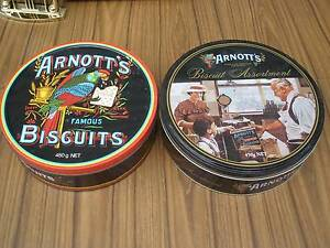 Arnotts biscuit tins Kings Langley Blacktown Area Preview