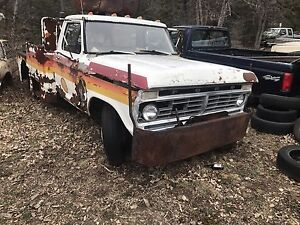 Parting out late 70s and early 80s Ford tow trucks