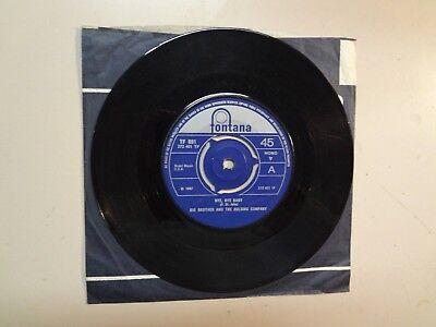 Big Brother   Holding Company  W Janis Joplin Bye Bye Baby U K  7  Fontana Tf881