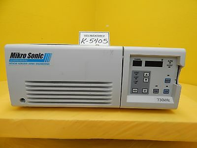 Hitachi Uo1200pmcx-ds1ceisl Ultrasonic Generator Mikro Sonic Used Tested