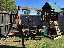 Cubby house with swing set/slide $70 Mango Hill Pine Rivers Area Preview