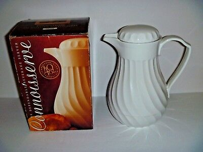 CONNOISSERVE - THERMAL LINED UNBREAKABLE CARAFE BEVERAGE SERVER IN BOX -