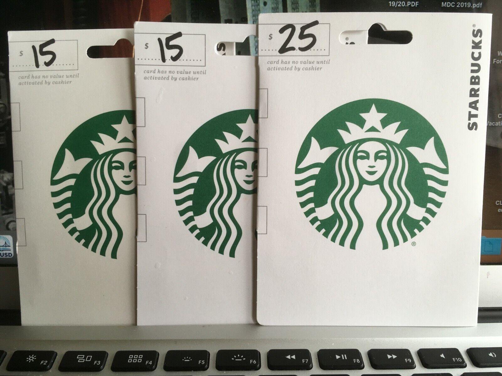 Starbucks Gift Card - Balance 50.00 - $41.00