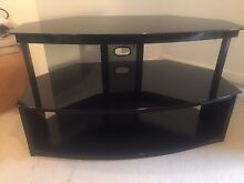 Black glass TV stand Pagewood Botany Bay Area Preview