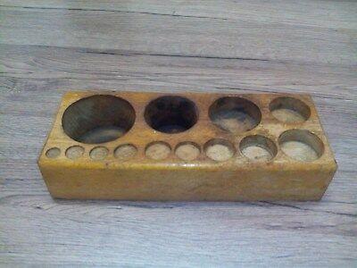alter Gewichtekasten,Holzkasten,Gewichtsteinkasten