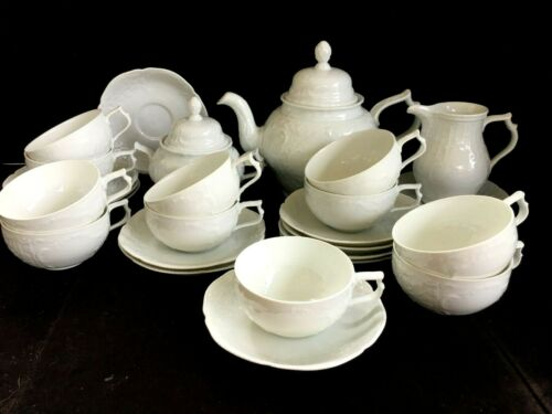 Porcelain tea set ROSENTHAL SUNSSOUCI