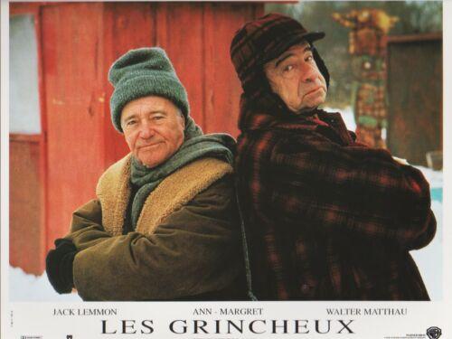Ann -MARGRET  Walter MATTHAU Jack LEMMON  8 French Lobby Cards GRUMPY OLD MEN