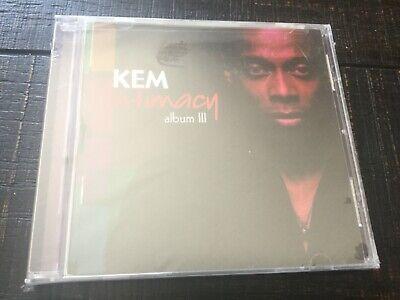 KEM - INTIMACY CD ALBUM III NEW SEALED 2010 Universal Studio Records GREAT GIFT Greats Cd Album