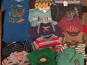 A big lot of boy's clothes size 12/18 M. AVAILABLE