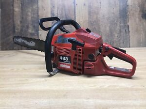 "Shindaiwa 488 professional chainsaw 47.9cc 18"" bar"
