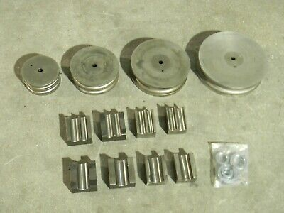 Metalpro 12 Pc. Pipe Bending Steel Die Set 12 To 1-12 Capacity Mp9710