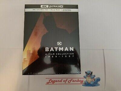 Usado, Batman 4 Film Collection 1989-1997 - 4k Ultra HD + Blu-Ray + Digital * New *  comprar usado  Enviando para Brazil