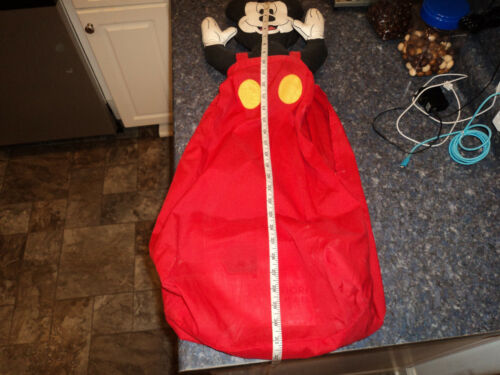mickey mouse diaper stacker. GREAT COLLECTOR, USED ON ADULT DIAPERS TOO