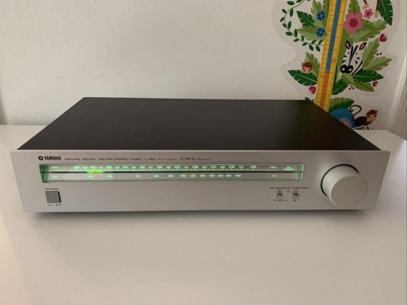 Yamaha T-460 AM/FM Stereo Tuner DC-NFB PLL Multiplex