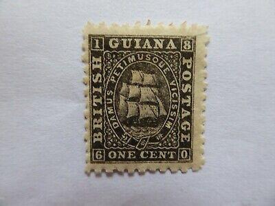 British Guiana 1866 1c m/mint