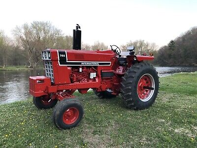 1976 Ih Blackstripe 766 International Tractor Farmall