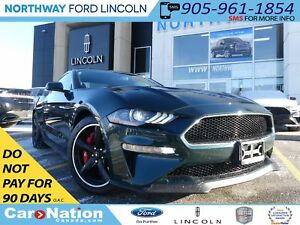 2019 Ford Mustang BULLITT | NAV | RECARO LEATHER | REAR CAM | V8