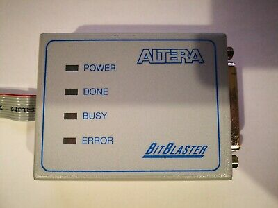 Altera Bitblaster Cable W Baud Rate Selection For Altera Cpld Fpga Programmer