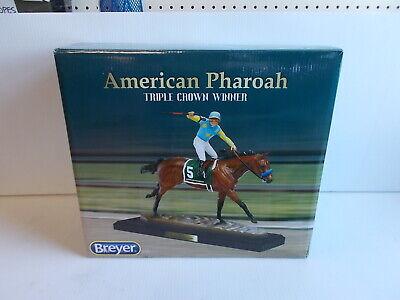 Breyer Model Horses American Pharoah Artists Resin #9180 DAMAGED