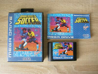 Dino Dini's Soccer (complete / PAL) - Sega Mega Drive comprar usado  Enviando para Brazil