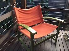 Canvas seat timber frame chair Randwick Eastern Suburbs Preview