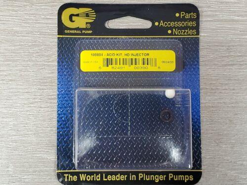 General Pump High Draw Chemical Injector Acid Repair Kit - #100804