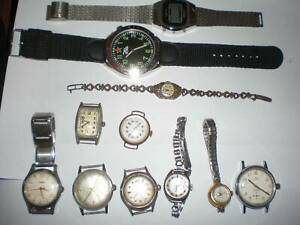 ESTATE CLEARANCE VINTAGE WATCH COLLECTION