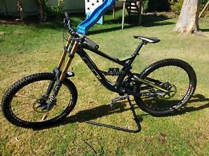GT world cup fury large Downhill bike