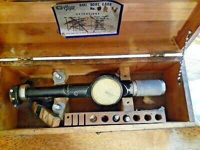 Machinist Standard Gage Co. 4 Dial Bore Gage