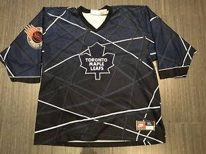 Vintage Nike Toronto Maple Leafs Ball Hockey Jersey