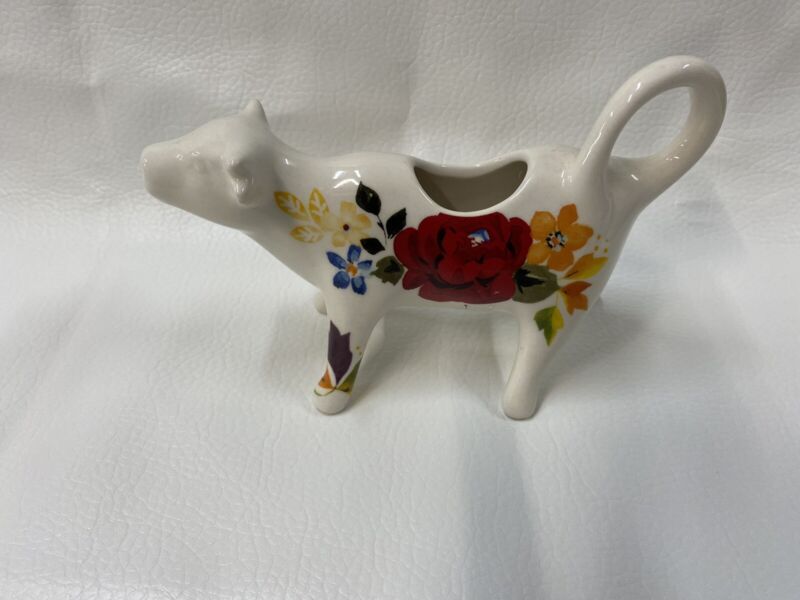 Pioneer Woman Cow Creamer TIMELESS FLORAL