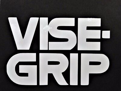 Vise Grip Vinyl Decal for laptop windows wall car boat ()