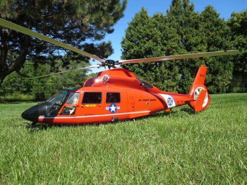 Dauphin US Coast Guard R/C Scale Helicopter, Hirobo Dauphin2 / Panther